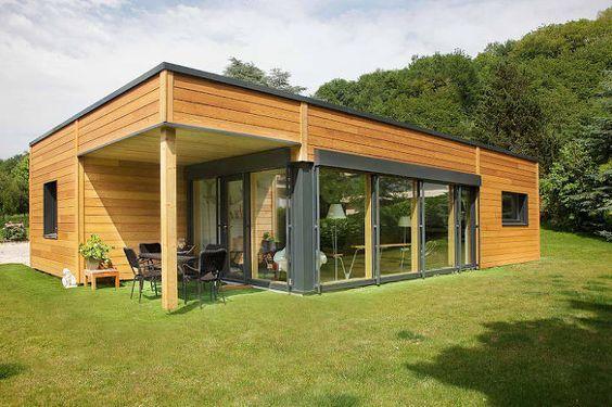 Préfabriqué Maison une maison préfabriquée : construction rapide et conçue en usine