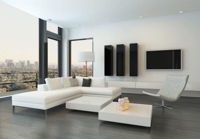 Décoration salon minimaliste