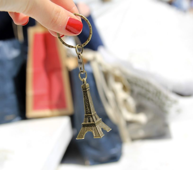 Porte clé - Paris - Tour Eiffel