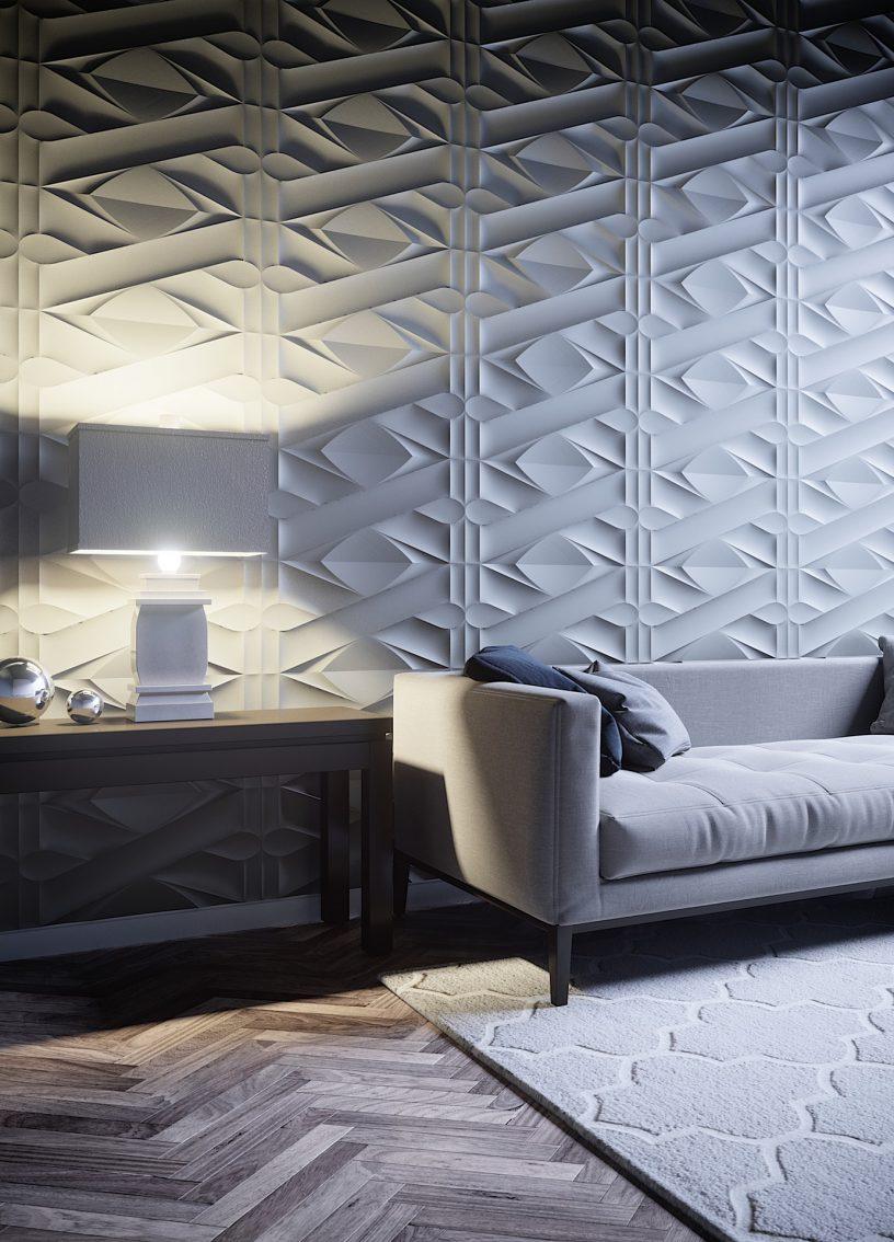 Déco Salon Noir Et Blanc Pour Une Ambiance Moderne