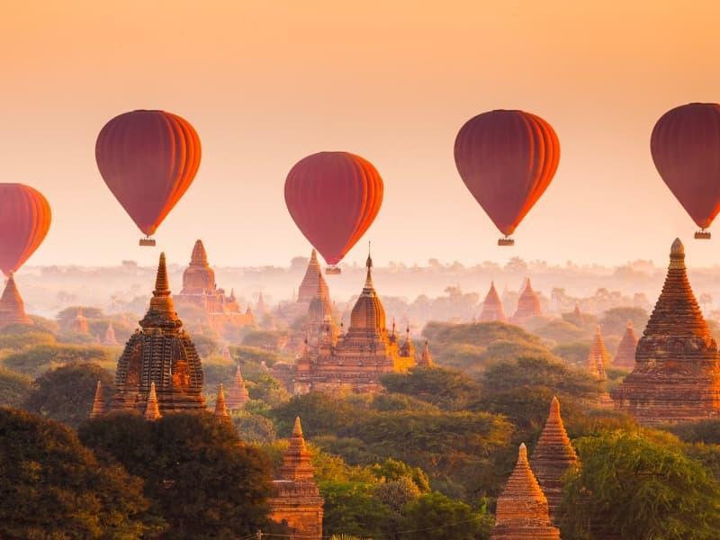 La Birmanie et ses vestiges archéologiques