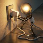 Une prise électrique