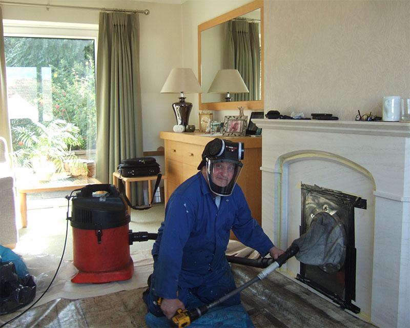 ramonage de cheminée