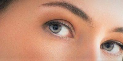 femme visage yeux